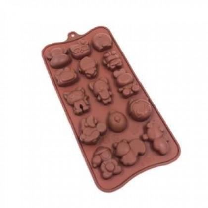 Cartoon Silicone Chocolate Mould